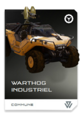 H5G REQ Card Warthog industriel