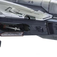 这张设计图展现了军刀号导弹发射架的细节。