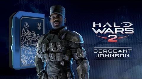 Halo Wars 2 Sergeant Johnson Launch Trailer