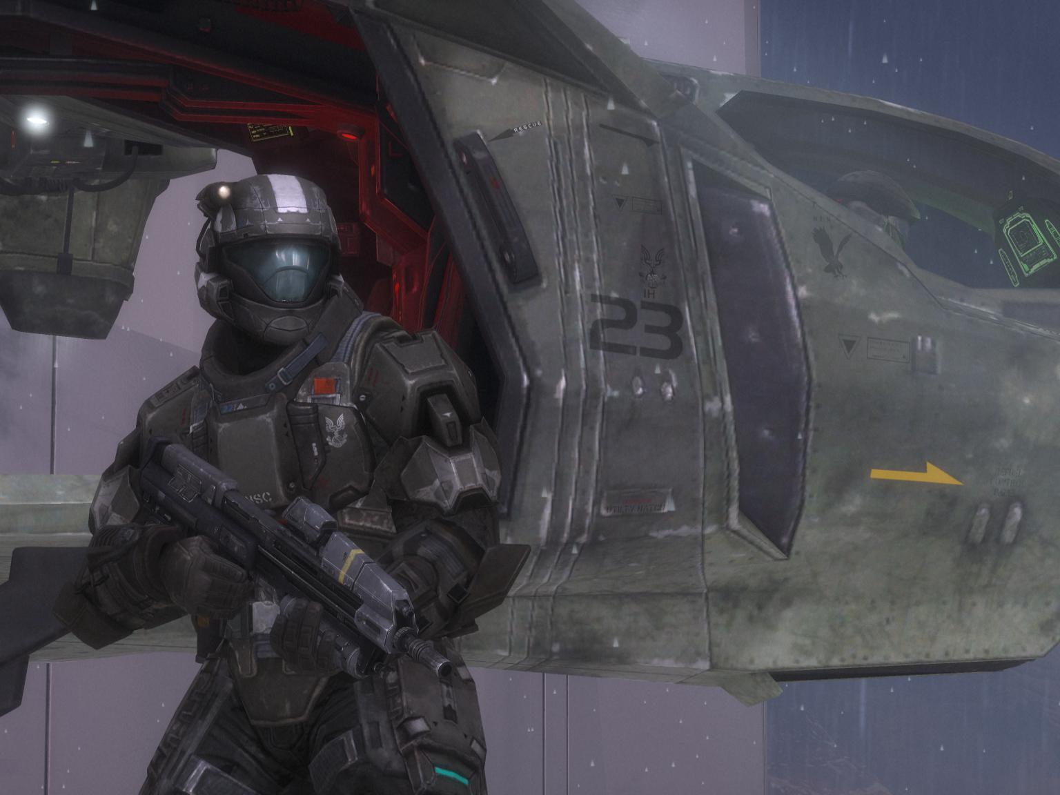 Orbital Drop Shock Trooper Halo Alpha Fandom