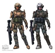 Unsc Marine and Army trooper