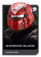 H5G REQ card Warior Blade-Casque
