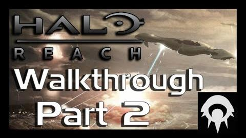 Halo- Reach Walkthrough - Part 2 - Winter Contingency - No Commentary