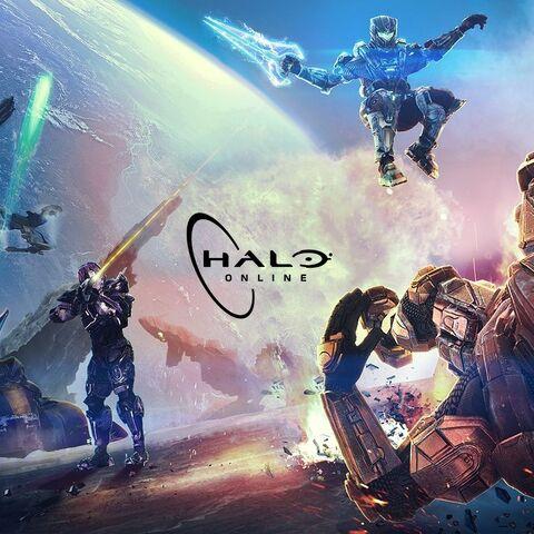 Erstes Artwork zu Halo Online