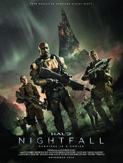 Halo Nightfall Poster