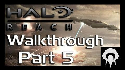 Halo- Reach Walkthrough - Part 5 - Tip of the Spear - No Commentary