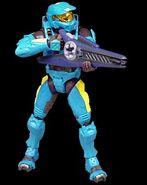 Halo2 7 spartan cyan