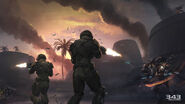 Halo Spartan Strike Marines