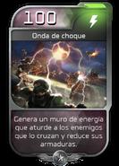 Blitz - Desterrados - Atriox - Poder - Onda de choque