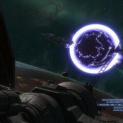 Die Lange Nacht des Trostes wird durch eine Hyperraumbombe zerstört.