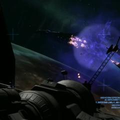 L'esplosione che ha annientato la nave Covenant