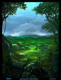 Arcadia ruins concept 1