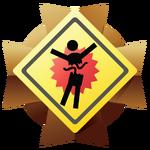 H3 Medal Splatter