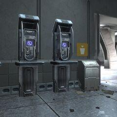 Öffentliche Telefonzellen der Stadt