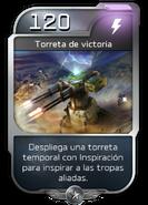 Blitz - UNSC - Comandante Jerome - Poder - Torreta de victoria