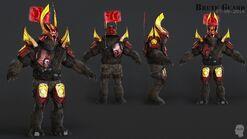 H2A - Jiralhanae Guard model