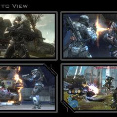 Varie immagini di Halo: Reach