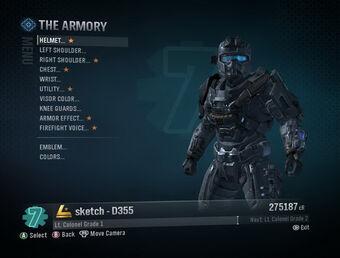 The Armory Halo Reach Halo Alpha Fandom