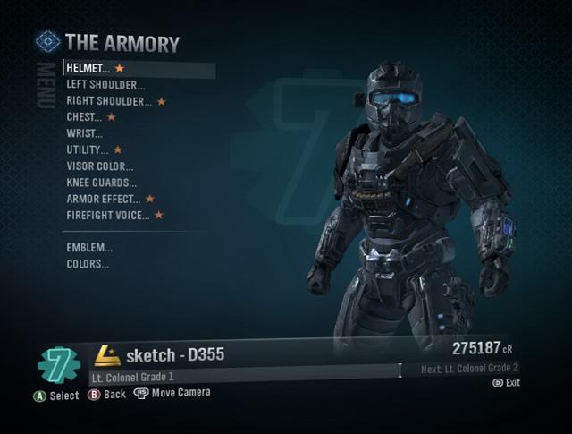 The Armory (Halo: Reach) | Halo Alpha | FANDOM powered by Wikia