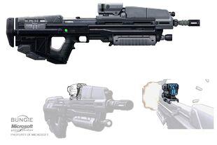 Rifle de asalto HR