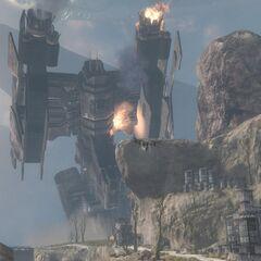 Grafton distrutta a seguito di un attacco a sorpresa dei Covenant