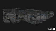 H2A CinematicRender MarathonHeavyCruiser-Side