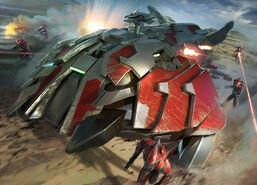 Ilustracion-Wraith Invader-HW2