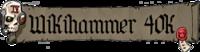 Wikihammer 40k logo