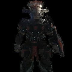 Un Brute Comandante Regolare di Halo 3