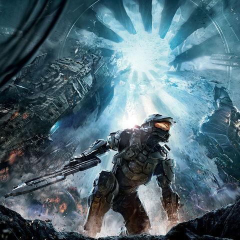 Halo 4: copertina