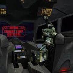 L'interno del Longsword che utilizzò Master Chief per fuggire dall'Installazione 04