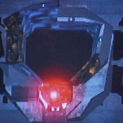 Un Lanciatore di Sentinelle distrutto (in Halo 2)