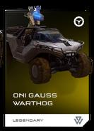 REQ Card - ONI Gauss Warthog