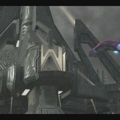 La sala di controllo di Halo