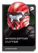 H5G REQ card Interceptor Cutter-Casque