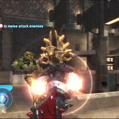 L'assassinio del Profeta del Rimorso, all'interno di un tempio su Delta Halo