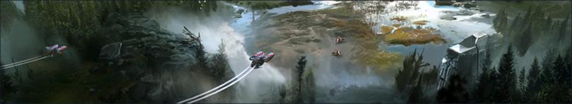 Registro Phoenix Ilustración Refugios Halo HW2
