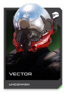 H5G REQ card Vector-Casque