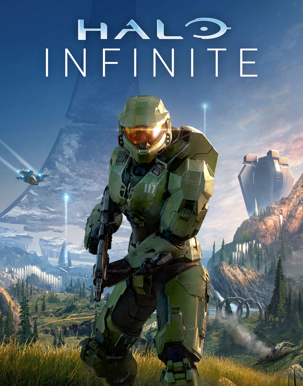 Halo Infinite Official Release Poster