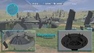 1 Halo map development
