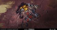 HW2 Cocooned base Desterrados Art