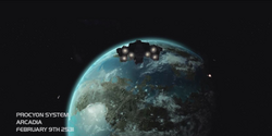 Halo Wars Arcadia-Stadt
