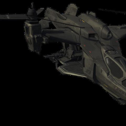 Ein UH-144 Falcon von der Seite