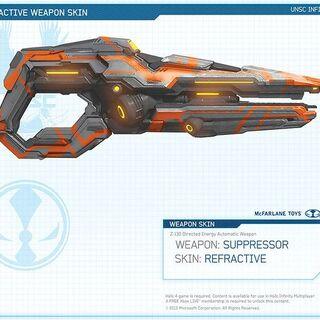 Der Suppressor mit der Refractive Skin