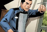 Escalation-Thorne in Spartan dress uniform