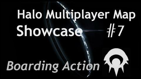 Halo Multiplayer Maps - Halo 1 Boarding Action