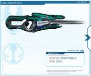 Storm Rifle Chill skin