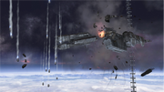 Erster Angriff auf die Erde