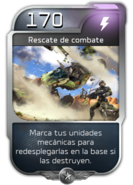 Blitz - UNSC - Sargento Forge - Poder - Rescate de combate