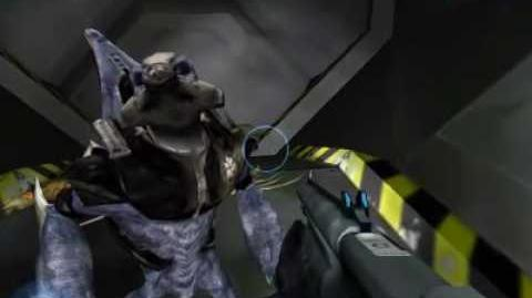 Halo 1. El grunt escondido en Las Fauces